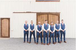 Groomsmen at Maypop Fields Wedding and Event Venue